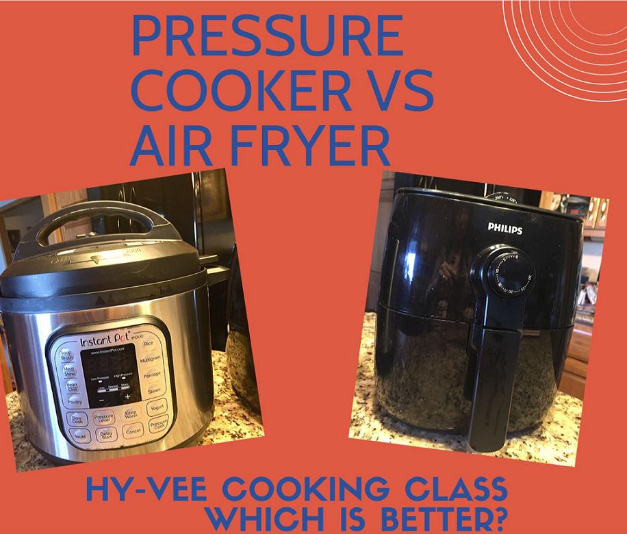 AF vs Pressure cooker better